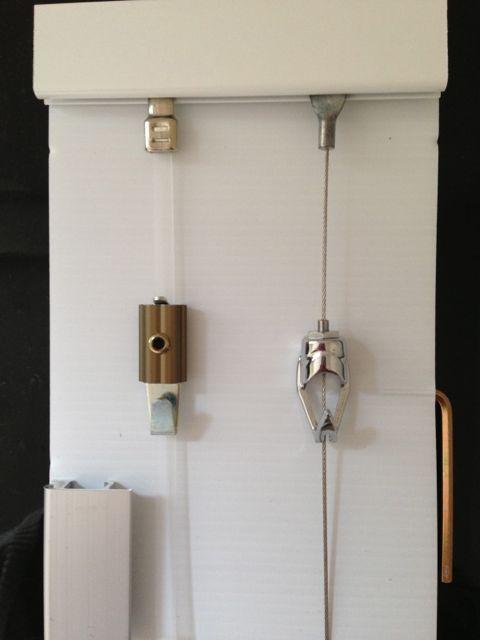Slimline Art Hanging System – Sample Kit