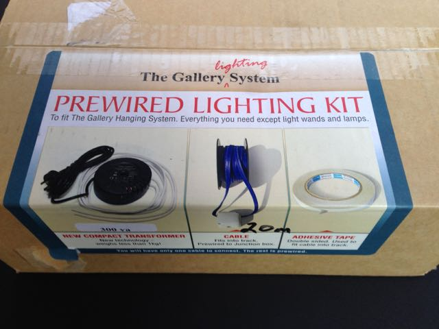 The Gallery Lighting System – Kit
