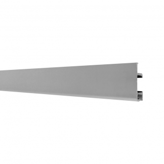 Slimline Art Hanging System - Track (rails) Anodised Silver