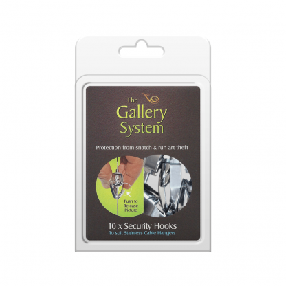 The Gallery System Push Button Security Hooks - Pack Shot