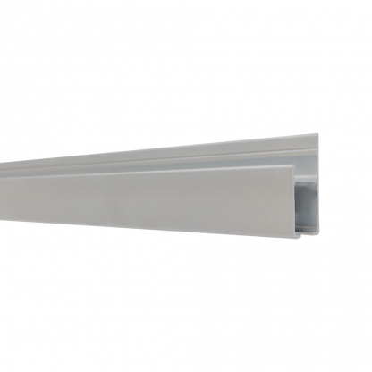 The Gallery System Track (rails) - Anodised Silver Finish
